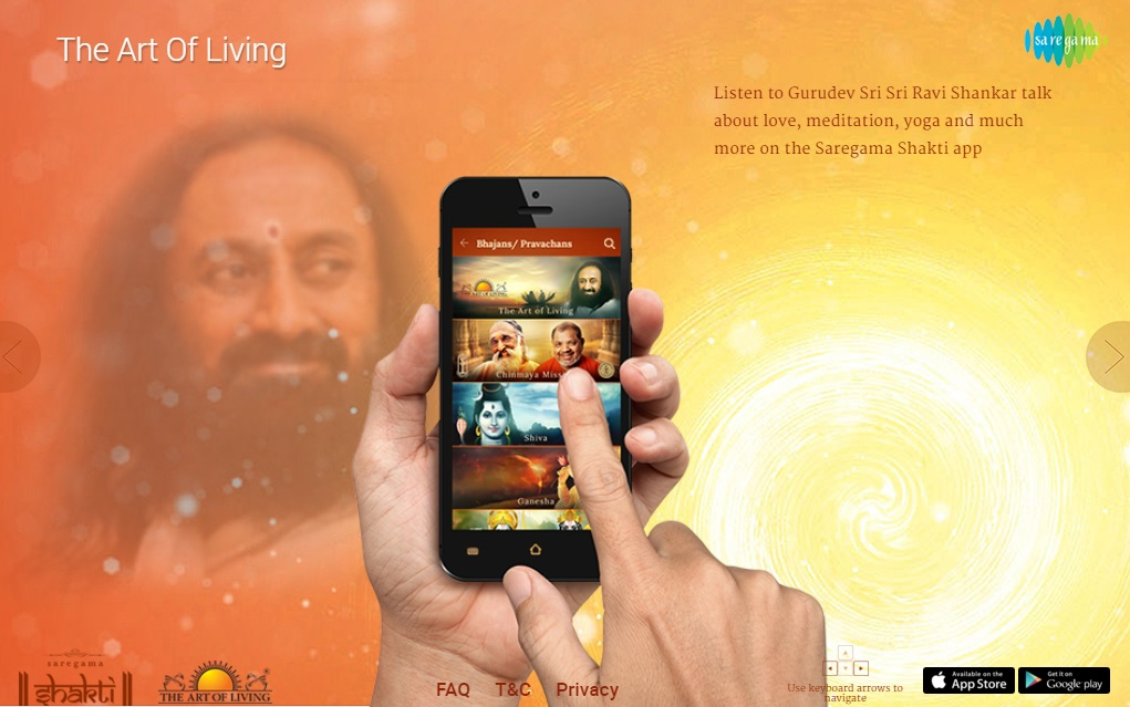 सारेगामा ने भक्ति संगीत प्रेमियों के लिए एप लांच किया