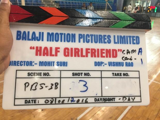 मोहित सूरी की 'हाफ गर्लफ्रेंड' की शूटिंग शुरू