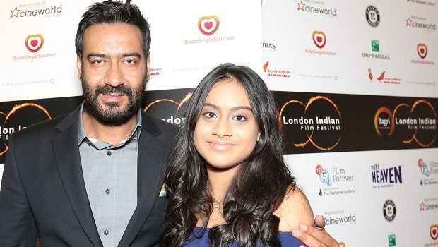 बेटी संग रेड कार्पेट पर उतरे अजय देवगन