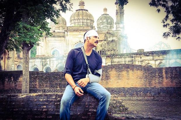 'जॉली एलएलबी 2' के सेट पर घायल हुए अक्षय कुमार!