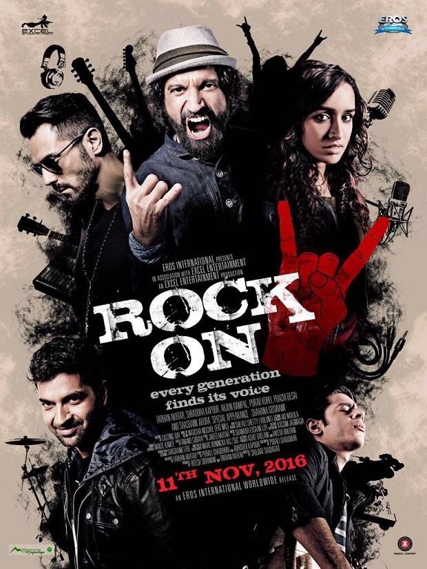 असल में जोशीला बैंड सॉन्ग है फिल्म रॉक ऑन 2 का जागो