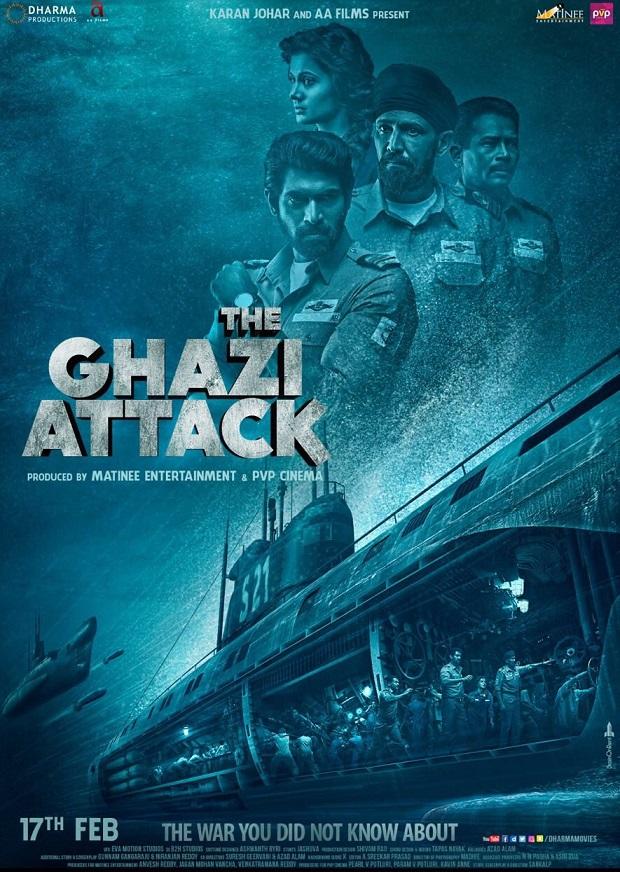 Trailer Review! द गाजी अटैक – बेहतरीन, शानदार और अद्भुत
