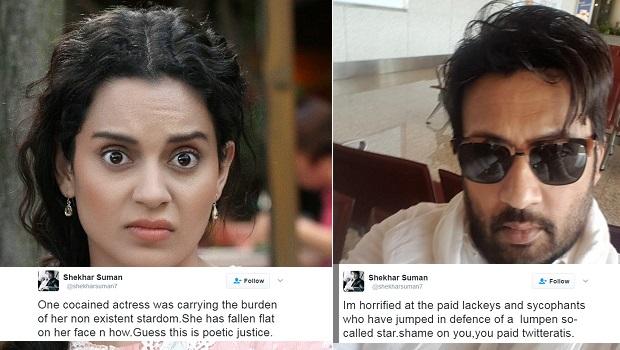 क्या शेखर सुमन ने कंगना रनौट पर ट्विट से साधा निशाना?