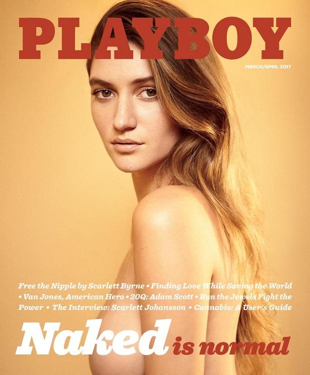 Omg! इस सनसनी के साथ Playboy के कवर पेज पर लौटी 'नग्नता'