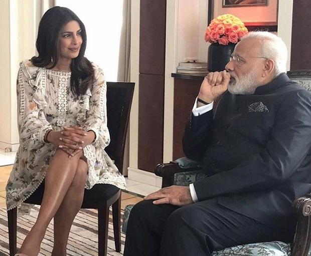 जब बर्लिन में प्रधानमंत्री नरेंद्र मोदी से मिली प्रियंका चोपड़ा