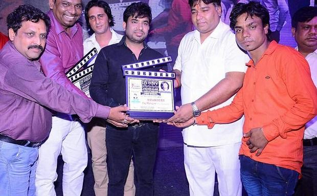 संगीतकार राज महाजन बेस्ट कंपोजर अवार्ड 2017 से सम्मानित