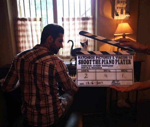 आयुष्मान खुराना ने शुरू की नयी फिल्म शूट द पिआनो प्लेयर की शूटिंग