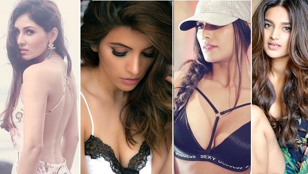 जब निधि, पूजा, पूनम और शमा ने सोशल मीडिया पर लगाया ग्लैमर तड़का