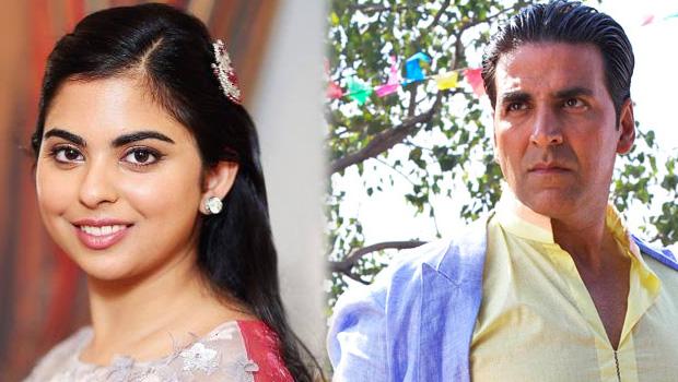 अक्षय कुमार के साथ फिल्म करने में जा रही हैं मुकेश अंबानी की बेटी ईशा!