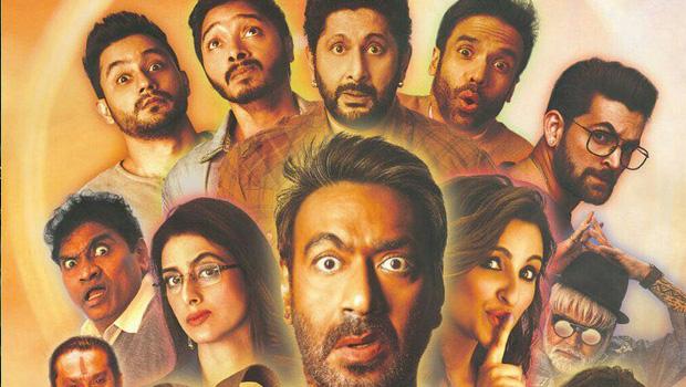 अजय देवगन की सर्वाधिक कमाई करने वाली फिल्म बनी गोलमाल अगेन