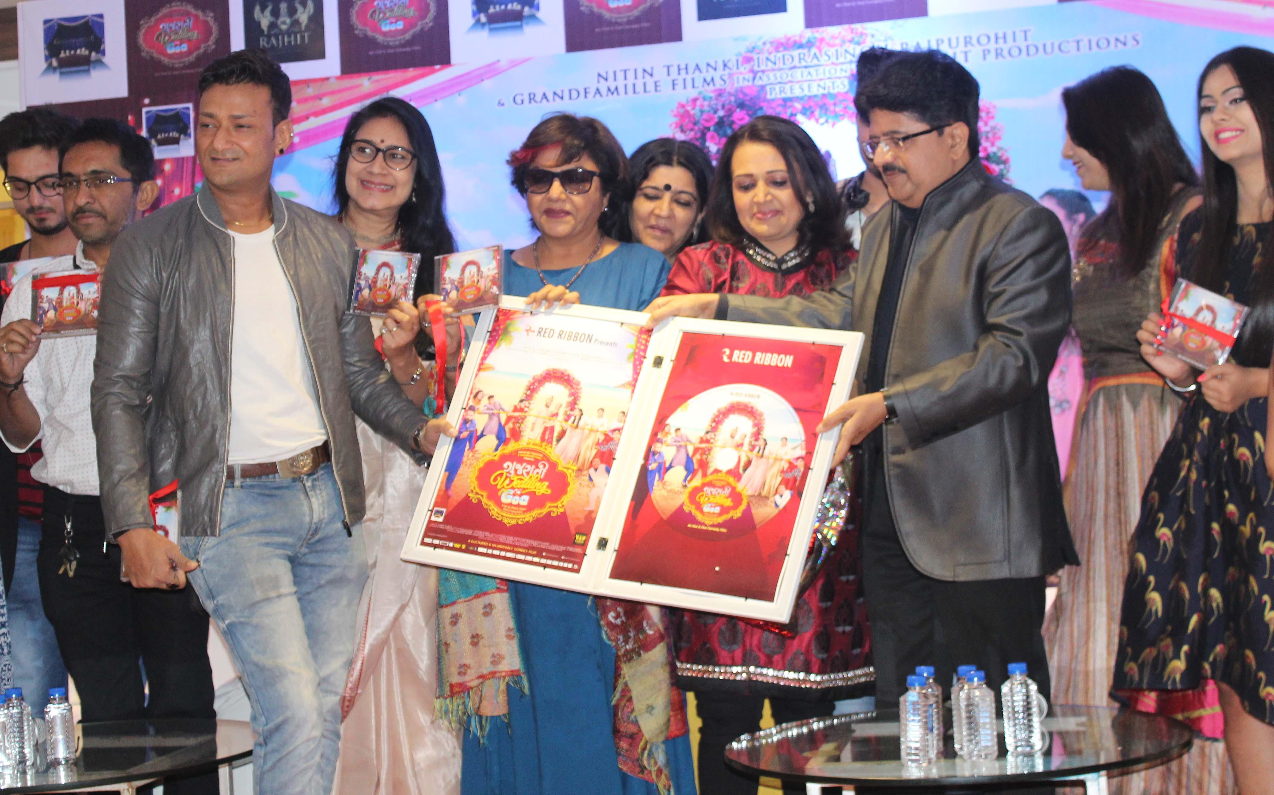 गुजराती फिल्म संगीत जगत में नये मानक स्थापित करता है गुजराती वेडिंग इन गोवा का संगीत