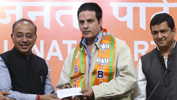 भाजपा में शामिल हुए राहुल रॉय, विजय गोयल के लिए कर चुके हैं चुनाव प्रचार
