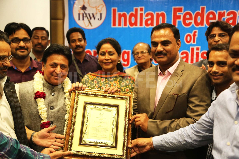 निर्माता अभिनेता आशिम खेत्रपाल राजस्थान इंटीग्रेशन अवार्ड से सम्मानित