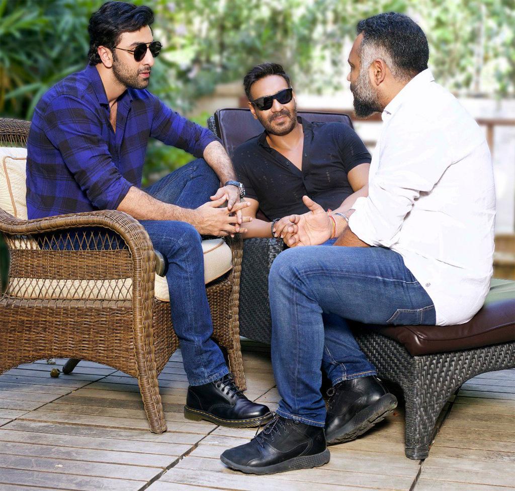 अजय देवगन और रणबीर कपूर की फिल्म के लिए 100 करोड़ का बजट