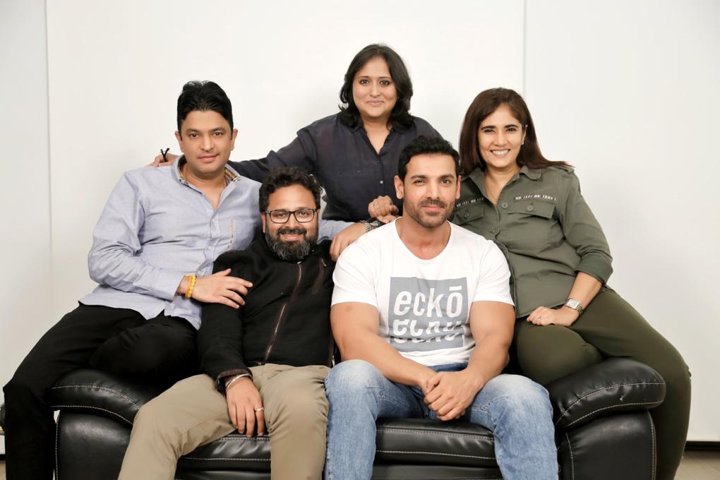 छह फिल्मों के निर्माण के लिए साथ आए जॉन अब्राहम, भूषण कुमार और निखिल आडवानी